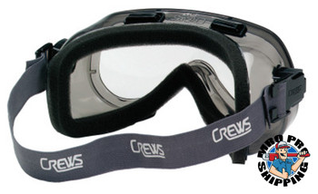 MCR Safety Verdict Goggles, Clear/Gray, Antifog, Foam Lining, Neoprene Strap (12 EA/EA)