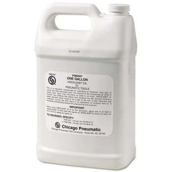 Chicago Pneumatic Airoilene Oil Air Tool Lubricants, 1 gal Can (1 GAL/EA)