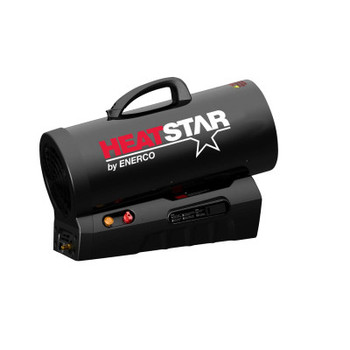 HeatStar Rechargeable Forced Air Propane Heaters, 60,000 Btu/h (1 EA/EA)