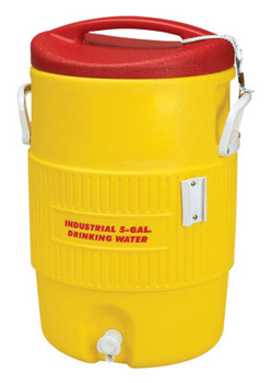 Igloo 400 Series Coolers, 5 gal, Red, Yellow (1 EA/EA)