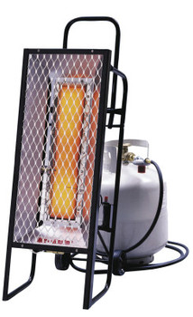 HeatStar Portable Radiant Heater, 35,000 Btu/h, 12 h (1 EA/BOX)
