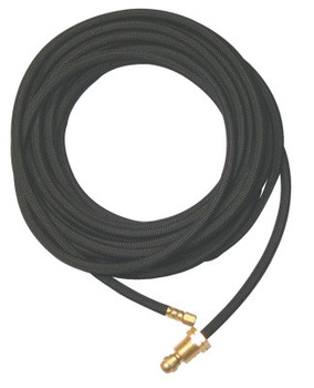 WeldCraft Water Hose Extensions, 25 ft, Synthetic Rubber (1 EA/EA)