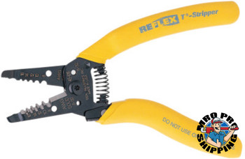 Ideal Industries Reflex Super T-Strippers, 8-16 AWG, Yellow (1 EA/EA)