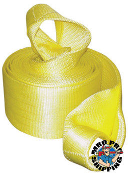 Keeper Vehicle Recovery Straps, Looped Web, 6 in W, 30 ft L, 30,000 lb Capacity (2 CTN/EA)