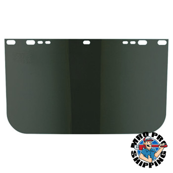 Anchor Products Visors, Dark Green, Unbound, 15 1/2 x 9 in (1 EA)