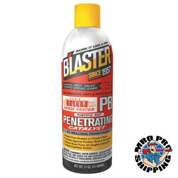 Blaster PB Penetrating Catalysts, Liquid Lubricant/Rust Inhibitor, Pail, 5 gal, Orange (5 PAL/EA)