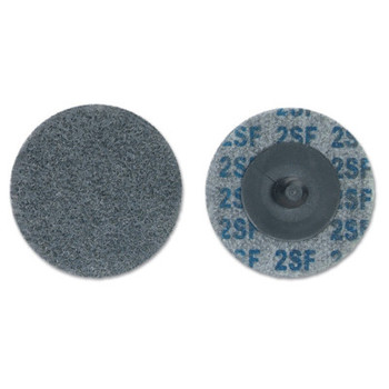 Merit Abrasives Deburring and Finishing Button Mount Wheels Type lll, 2 x 1/2, Fine, 2-3 Density (1 EA/EA)