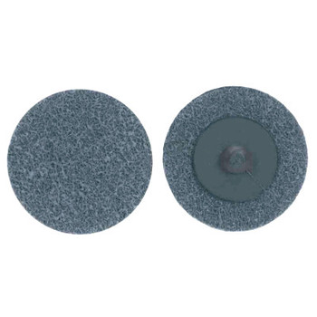 Merit Abrasives Deburring and Finishing Button Mount Wheels Type lll, 3 x 1, Silicon Carbide (1 EA/EA)