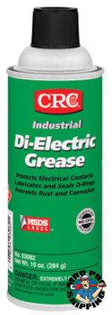 CRC Di-Electric Grease, 16 oz, Aerosol Can, NLGI Grade 2 (12 CAN/EA)