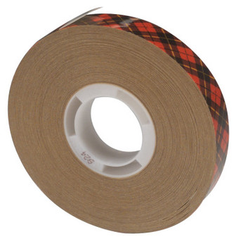 3M Scotch A.T.G. Adhesive Transfer Tape 924, 1/2 in X 36 yd (1 RL/EA)