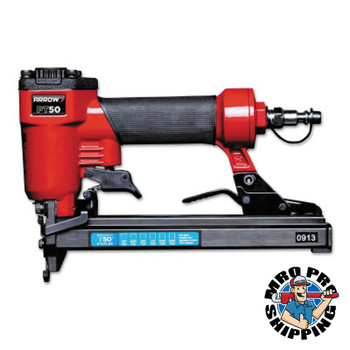 Arrow Fastener Pneumatic Staple Guns PT50, 3/8 in Wide x 1/4 in to 9/16 High Staples (1 EA/EA)