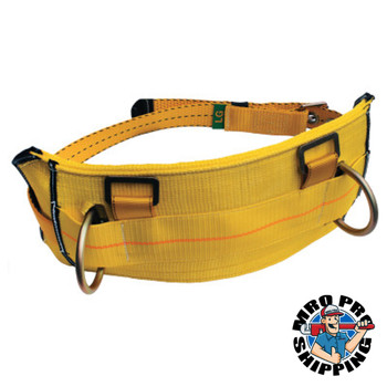 Capital Safety Derrick Belt, Work Positioning D-rings, Tongue Buckle, use w/1105827 Harness, M (1 EA/CA)