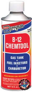 Berryman B-12 CHEMTOOL Carburetor/Choke Cleaner, 15 oz Can (12 CN/CA)