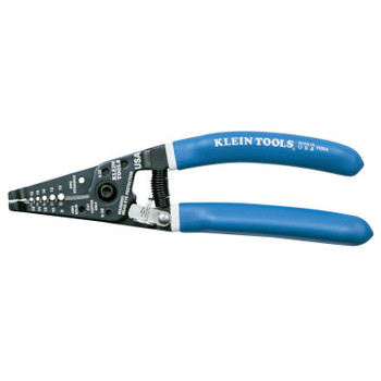 Klein Tools Klein-Kurve Wire Strippers/Cutters, 8-16 AWG Solid; 10-18 AWG Stranded Copper (1 EA/EA)