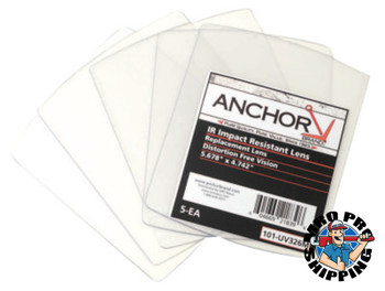 Anchor Products Cover Lens, Miller, Outside Cover Lens, 5.675 x 4.742, 100% Polycarbonate (1 PK)