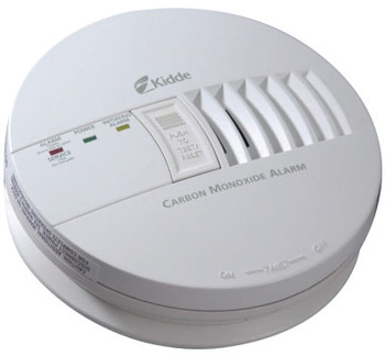 Kidde Carbon Monoxide Alarms, Carbon Monoxide, Electrochemical (1 EA/EA)