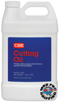 CRC Cutting Oils, Bottle, 1 gal (4 GAL/EA)