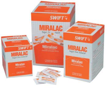 Honeywell Miralac Antacids, Calcium Carbonate (250 BX/PK)