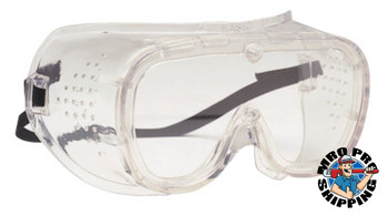 Protective Industrial Products, Inc. 440 Basic-DV Direct Vent Goggles, Clear/Clear (1 EA/EA)