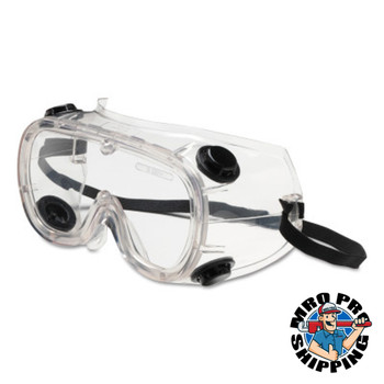 Protective Industrial Products, Inc. 441 Basic-IV Indirect Vent Goggles, Clear/Clear (1 PR/BAG)