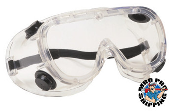 Protective Industrial Products, Inc. 441 Basic-IV Indirect Vent Goggles, Clear Fogless/Clear (1 PR/BG)
