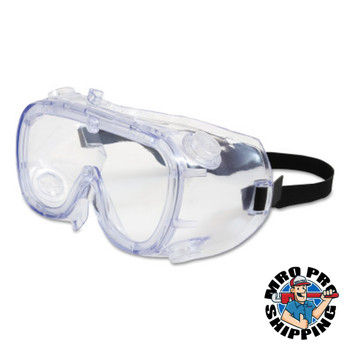 Protective Industrial Products, Inc. 551 Softsides Indirect Vent Goggles, Clear Fogless/Clear (1 PR/BG)
