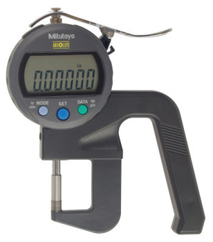 Mitutoyo Series 547 IDC Type Thickness Gages, 0.47 in Range, 0.00005 in Graduation (1 EA/BG)