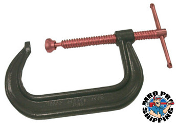 Anchor Products Forged C-Clamp, 6 5/16 in Throat Depth, 12 in L (1 EA)