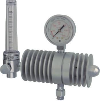 Esab Welding High Flow CO2 Flowmeters/Flowgauges, Carbon Dioxide, CGA 320, 1,500 psig inlet (1 EA/EA)