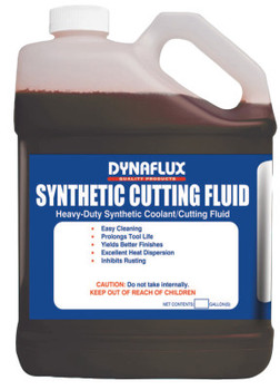 Dynaflux All Metal Synthetic Cutting Fluids, 1 gal, Pour Bottle (1 CA/EA)