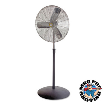 Airmaster Fan Company Commercial Non-Oscillating Air Circulator, Adj. Pedestal, 24 in, 1/4 hp, 3-Speed (1 EA/EA)