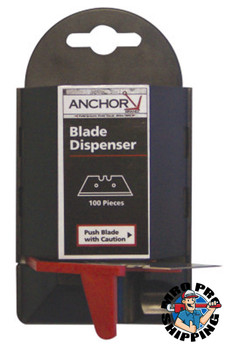 Anchor Products Blade Dispenser Containers, 5.5 in, Steel (100 EA)