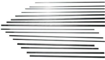 Esab Welding DC Plain Gouging Electrodes, 1/4 in X 12 in (50 EA/EA)