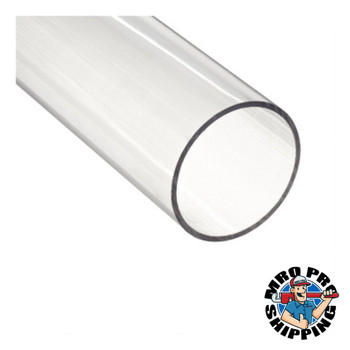 Gage Glass Plastic Tubing, 3/4 in x 48 in (6 CS/EA)