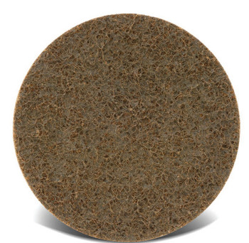 CGW Abrasives Surface Conditioning Discs, Hook & Loop, 4 in, 13,000 rpm, Maroon, Medium (10 EA/EA)