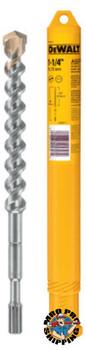 DeWalt Spline Shank Hammer Bits, 1 1/4in x 16 in (1 EA/EA)