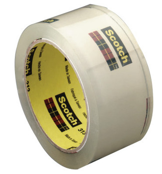 3M 3M Industrial 021200-42370 Scotch High Performance Box Sealing Tapes 313 (24 RL/EA)