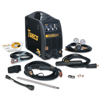 Esab Welding Fabricator 141i MIG/Stick/TIG Welder with Basic Utility Cart, 115 V Input Power (1 EA/EA)
