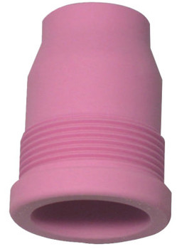 WeldCraft Alumina Gas Lens Nozzles, 5/8 in, Size 10, Long, For Torch 9; 17; 18; 20; 26; 27 (1 EA/ST)