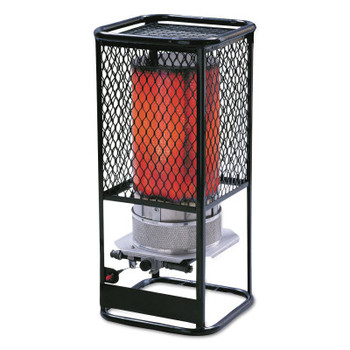 HeatStar Portable Radiant Heater, 125,000 Btu/h, 17 h (1 EA/EA)