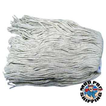 Anchor Products Cotton Saddle Mop Heads, 16 oz, For Wingnut; Quickway; Big Jaw Handles (12 EA)