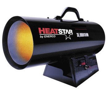 HeatStar Portable Propane/Natural Gas Forced Air Heaters, 35,000 Btu/h, 115 V (1 EA/EA)