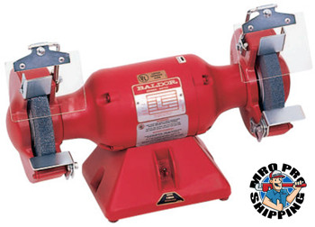 "Baldor Electric 7"" Industrial Grinder,36/60 Grit Wheels,Steel Rest,Iron Exhaust,Single, 3600 rpm (1 EA/EA)"