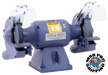 "Baldor Electric 8"" Industrial Grinders, 3/4 hp, 36/60 Grit Wheels, Single Phase, 1,800 rpm (1 EA/EA)"