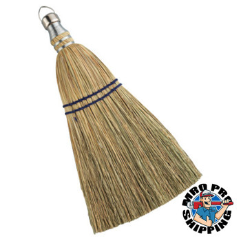Anchor Products Whisk Brooms, 12 in Trim L, 100% Broom Corn Fill (12 EA)