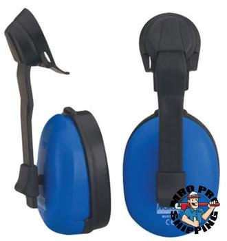 Honeywell Mustang Earmuffs, 20 dB NRR, Blue, Cap Attached (1 EA/EA)