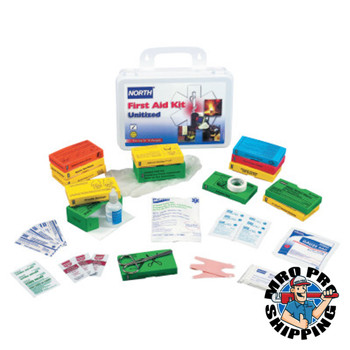 Honeywell Unitized First-Aid Kits, Personal Protection, Metal, 32 Person (1 EA/EA)