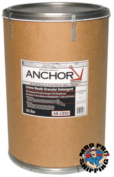 Anchor Products Granular Creme Beads, 50 lb Drum (1 DR)