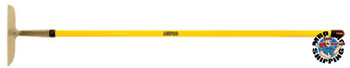 """Ampco Safety Tools 10"""" HOE  GARDEN W/FBG HANDLE (1 EA/ST)"""