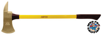 Ampco Safety Tools Double Face Engineers Hammers, 2 1/4 lb, 14 in L (1 EA/EA)